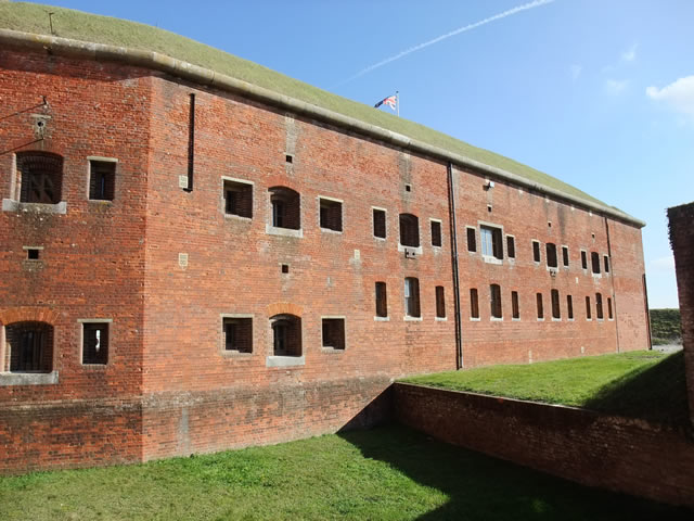 Fort Nelson, West face of the Redan