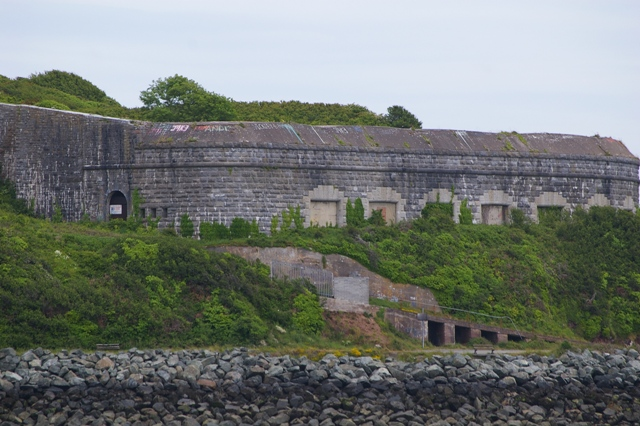 Fort Hubberston, casemated battery - Les Nixon 6/2013