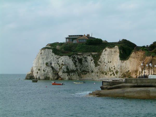 Freshwater Redoubt from Freshwater Bay, Isle of Wight